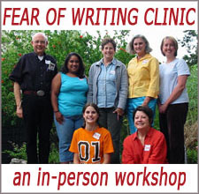 Fear of Writing Clinic - an in-person workshop