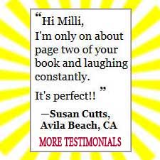 Testimonials for Fear of Writing by Milli Thornton