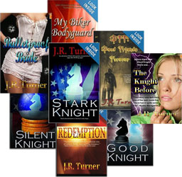 J.R. Turner, author of the Stark Knight series & various action adventure, YA and romance titles